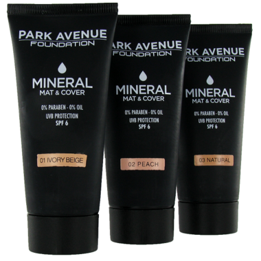 Buy Park Avenue Mineral Mat Cover Foundation At Well Ca Free Shipping 35 In Canada