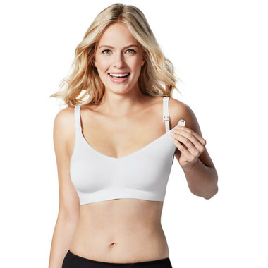 Bravado Designs The Body Silk Seamless Nursing Bra White