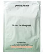 Grace & Stella Co. Dr. Pedicure Foot Peeling Mask Peach
