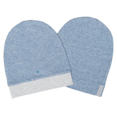 Juddlies Raglan Organic Hat Denim Blue