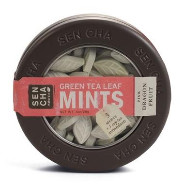 Sencha Naturals SEN CHA Pink Dragonfruit Green Tea Leaf Mints