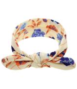 Baby Wisp Headband Top Knot White Paradise
