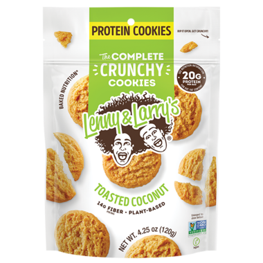 Lenny & Larry\'s Complete Crunchy Cookie Toasted Coconut
