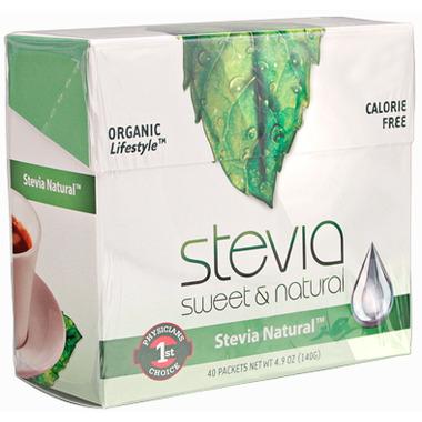 Stevia International Stevia Natural Packets