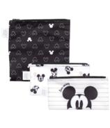 Bumkins Disney Reusable Snack Bag Love Mickey