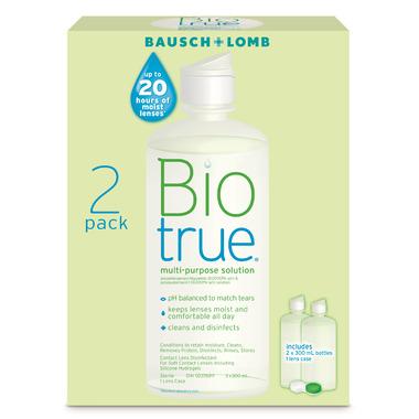 Bausch & Lomb Biotrue Twin Pack