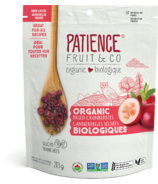 Patience Fruit & Co. Organic Dried Cranberries Gently Sweetened