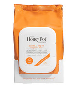 The Honey Pot Company Feminine Wipes Normal