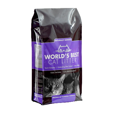 World\'s Best Cat Litter Multiple Cat Formula Naturally Scented