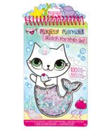 Fashion Angels Magical Mermaid Compact Sketch Portfolio
