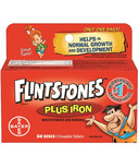 Flintstones Plus Iron Multivitamin and Minerals Chewables
