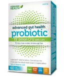 Genuine Health Advanced Gut Health Probiotic 15 Billion CFUs