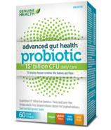 Probiotique amélioré Genuine Health santé intestinale 15 mds d'UFC