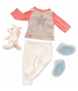 Our Generation Unicorn Wishes PJ Outfit