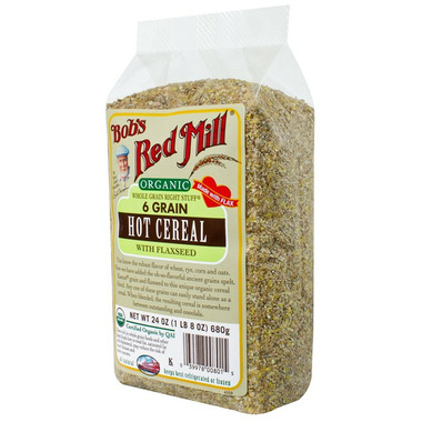 Bob\'s Red Mill Organic 6 Grain Hot Cereal