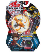 "Bakugan Ultra Aurelus Phaedrus 3"" Collectible Action Figure & Trading Card"