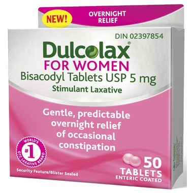 Dulcolax for Women 50\'s