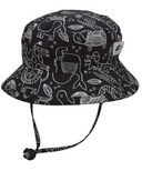 Puffin Gear Camp Hat Wild Black