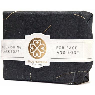 True Moringa Magic Black Soap