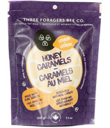 Three Foragers Bee Co. Honey Caramels Lemon