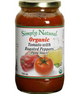 Simply Natural Organic Tomato With Roasted Peppers Pasta Sauce