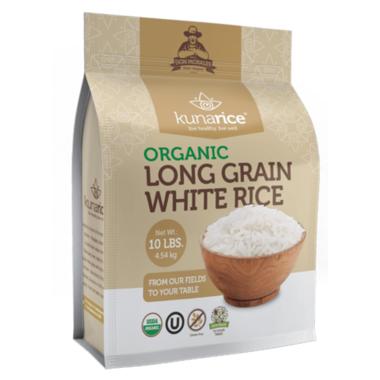 Kunachia Organic Long Grain White Rice