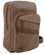 Buffalo David Bitton Hemmingway Backpack Sling Brown