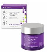 Crème anti âge naturelle au DMAE hyaluronique pour maintenir et raffermir la peau d'ANDALOU