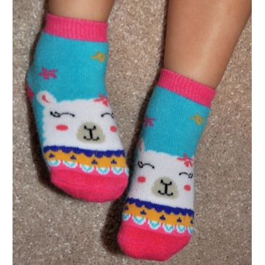 ZOOCCHINI Buddy Baby Socks Set Laney the Llama 0-24 Months
