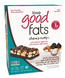 Love Good Fats Chewy Nutty Dark Chocolate Sea Salt Almond Bar Case