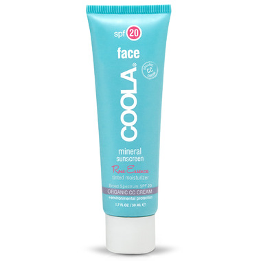 COOLA Face Mineral Sunscreen SPF 20 Rose Essence Tint Warm Beige