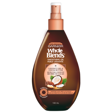 Garnier Whole Blends Coconut Oil Cocoa Butter Smoothing Oil