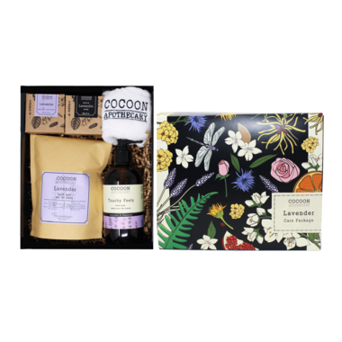 Cocoon Apothecary Lavender Care Package
