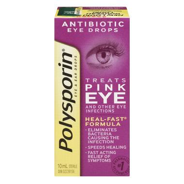 Buy Polysporin Antibiotic Eye Ear Drops At Well Ca Free Shipping