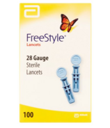 FreeStyle Sterile Lancets 28 Gauge