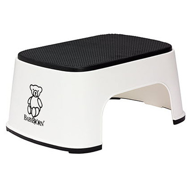 BabyBjorn Step Stool White