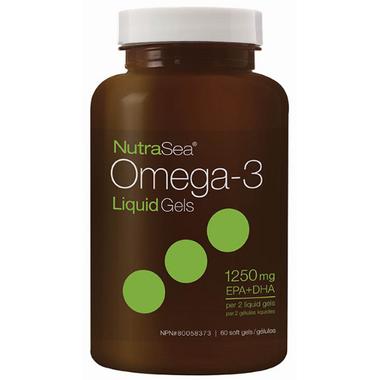 NutraSea Omega-3 Liquid Gels