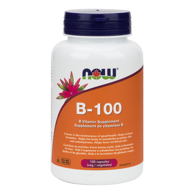 NOW Foods B-100 B Vitamins Blend