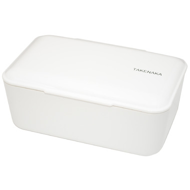 Takenaka Bento-Box Expanded White Lunch Box