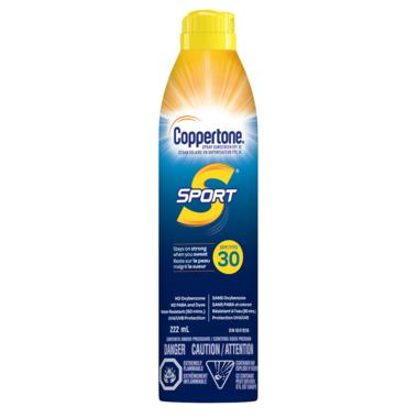 Coppertone Sport Sunscreen Continuous Spray SPF 30