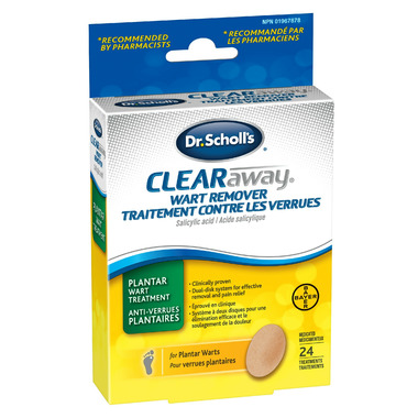 Dr. Scholl\'s Clear Away Wart Remover for Plantar Wart