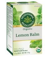 Traditional Medicinals Organic Lemon Balm Tea