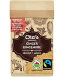 Cha's Organics Ginger Ground
