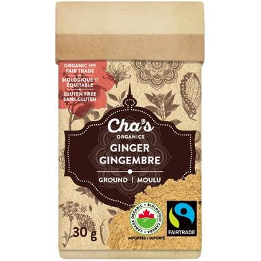 Cha\'s Organics Ginger Ground