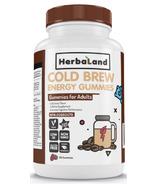 Herbaland Cold Brew Energy Gummies