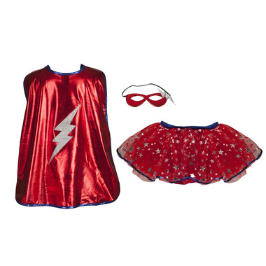 Great Pretenders Superhero Tutu Cape and Mask Set