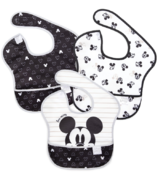 Bumkins Disney SuperBib Love Mickey