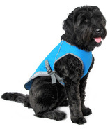 Canada Pooch Chill Seeker Cooling Vest in Aqua Size 20
