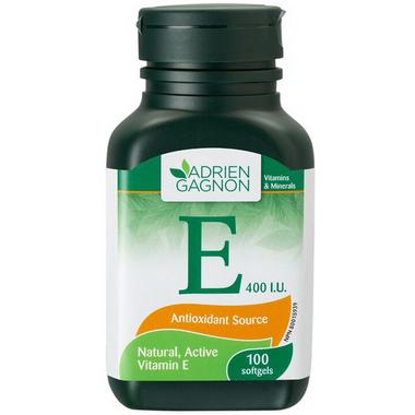 Adrien Gagnon Vitamin E 400 I.U. Natural