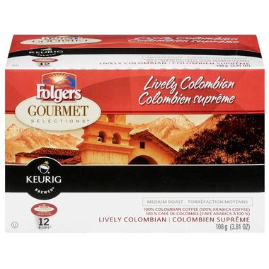 Folgers Colombian Medium Roast Single Serve Capsules